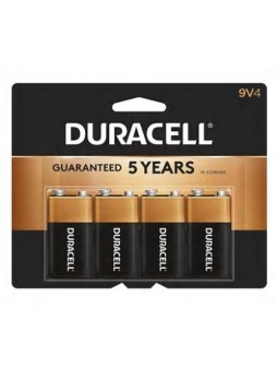 "Duracell® Alkaline ""9V"" Batteries, 4-Pack"