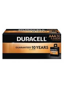 """Duracell® Alkaline """"AAA"""" Batteries, 36-Pack"""