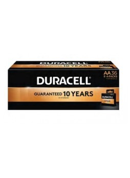 Duracell® CopperTop™ AA Alkaline Batteries, 36/Pk