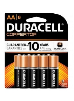 "Duracell® Alkaline ""AA"" Batteries, 8-Pack"