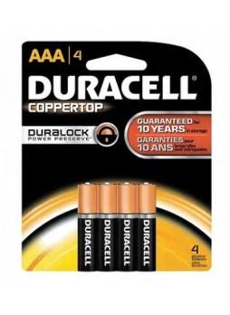 """Duracell® Alkaline """"AA"""" Batteries, 4-Pack"""