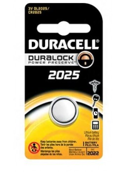 Duracell® 2025 Lithium Battery, 3.0V, 1-Pack
