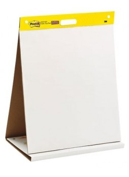 "Post-it®, Tabletop Easel Pad, 20"" x 23"", Unruled, Plain White, EA , (563R)"