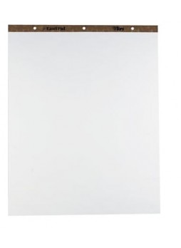 "Tops Easel Pads, Quadrille Rule, 27"" x 34"", White, 50 Sheets, 4 Pads/Carton"