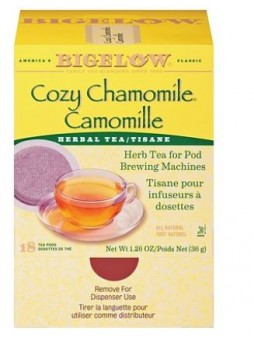 Bigelow Cozy Chamomile Tea Pods 18/pack