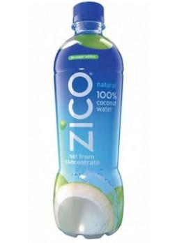 Zico Natural Coconut Water, 16.9oz, pack of 12