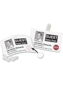 "Dymo 30911 Time Expiring Adhesive Badges, 2.25"" x 4"", roll of 250, rectangle, white, Each"