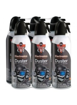 Falcon DPSXL6 Dust-Off Xl Compressed Gas Duster, pack of 6