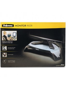 "Fellowes 8020101 Smart Suites Monitor Riser, Up to 21"", Each"