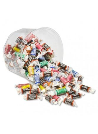 Office Snax Tootsie Roll Assortment - Regular, Lime, Cherry, Lemon, Vanilla, Orange - 1.75 lb - 1 Each