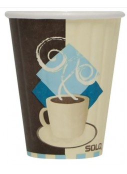 SOLO® Tuscan Cafe™ Duo Shield® Insulated Paper Hot Cups, 12 oz., 40/Pack