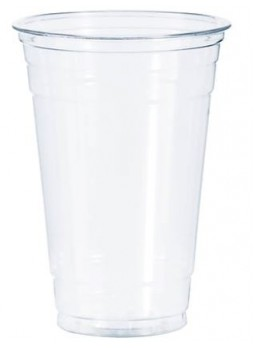 SOLO® PETE Ultra Clear™ Translucent Plastic Cold Cups, 16 oz., 1,000/Case