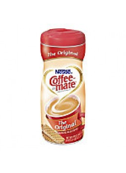 Nestle Coffee-mate Powdered Creamer Canister, Original, 22 Oz - 123911