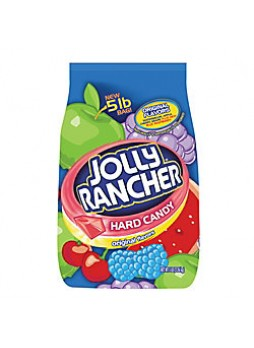 Jolly Rancher® Hard Candy, Assorted Flavors, 5 Lb. Bag