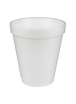Dart Insulated Foam Drinking Cups, 8 Oz., Box Of 1,000