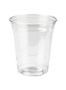 Dixie Crystal Clear Plastic Cups, 12 Oz., Box Of 25 - 673135
