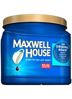 Maxwell House Coffee, 30.6 Oz. Container, each