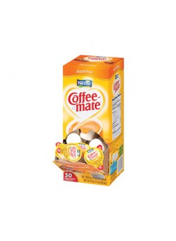Nestle® Coffee-mate® Liquid Creamer Singles, Hazelnut, 0.38 Oz, Box Of 50