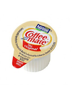 Nestle® Coffee-mate® Liquid Creamer Singles, Original, 0.38 Oz, Box Of 180