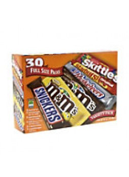 M&M's® Mars One Stop Variety Pack, Pack Of 30 - 249092