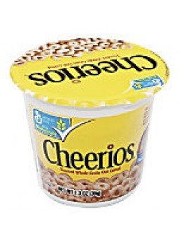 Cheerios® Cereal-In-A-Cup, 1.3 Oz, Box Of 6 - 380712