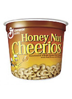 Honey Nut Cheerios® Cereal-In-A-Cup, 1.83 Oz, Pack Of 6 - 380736