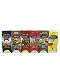 Celestial Seasonings Assorted Teas, 2 Oz, 25 Per Box, Carton Of 6 Boxes  - 681372