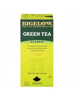 Bigelow Green Tea Bags, Box Of 28 - 864169