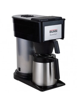 Coffee Maker, 900 W - 10 Cup(s) - Black, Silver - Stainless Steel - bun382000002