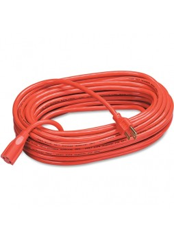 Extension cord, 125 V AC Voltage Rating - 13 A Current Rating - Orange - fel99598