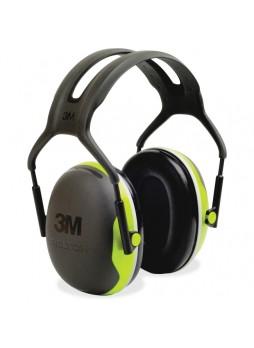 Ear Muff, Foam, Steel Liner - 1 / Each - Black, Green - mmmx4a