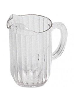 Bouncer Plastic Pitcher, 32 fl oz Pitcher - Polycarbonate Plastic - Pitcher - Yes - 1 - rcp333600clr