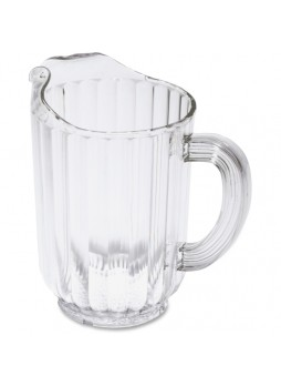 Bouncer plastic pitcher, 60oz - Clear - rcp333800cr