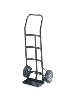 "Hand truck, 400 lb Capacity19.5"" Width x 14.5"" Depth x 45.5"" Height - Frame Material Steel - Black - saf4069"