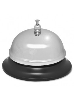 "Bell, 2.75"" Diameter - Nickel Plated - , Chromed - Steel - Silver Color - spr01583"