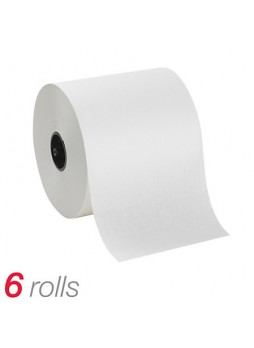 "SoftPull® Hardwound Paper Towel Rolls, 7"" x 1,000', White, Case Of 6"