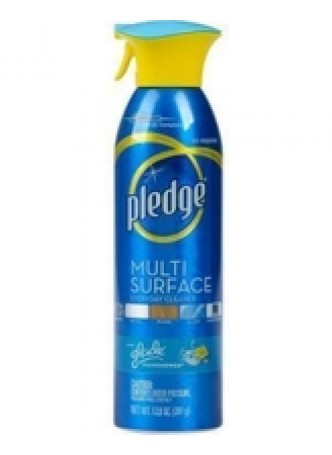 Pledge Multi-Surface Everyday Cleaner - Spray - Rainshower Scent - 1 Each - Clear, Each