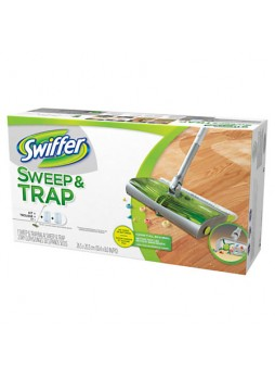 "Swiffer® Sweep And Trap, 30"", Green"