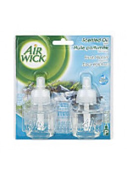 Air Wick Scented Oil Warmer Refills, Fresh Waters, 1.34 Oz,Pack Of 2 - 1385560