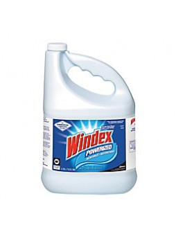 Windex® Powerized Glass Cleaner With AMMONIA-D®, 1 Gallon Refill