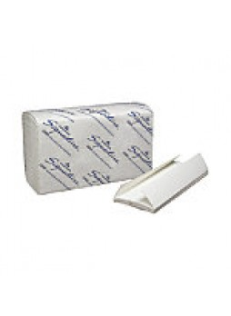 "Georgia-Pacific Signature Premium Multi-Fold Paper Towels, 9 1/2"" x 9 1/4"", White, Case Of 2,000 Sheets - 592768"