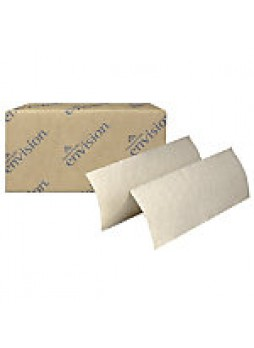 Brown Multifold Paper Towels, 100% Recycled, Pack of 16- 592823
