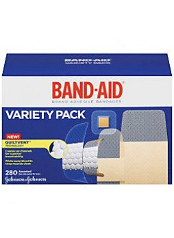 Band-Aid® Brand Adhesive Bandages Variety Pack, Assorted, Box Of 280