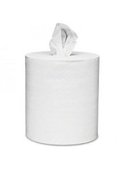 "Kimberly-Clark 2-ply Center-Pull Paper Towels - 2 Ply - 8"" x 15"" - White - Fiber - 6 / Carton"