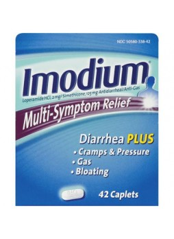 Imodium, Gas pain reliever, Caplets, 42ct