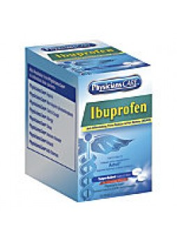 Ibuprofen, PhysiciansCare, Single Dose Packets, Box Of 125