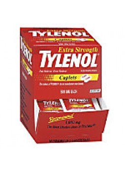 Tylenol Extra Strength, Box Of 50