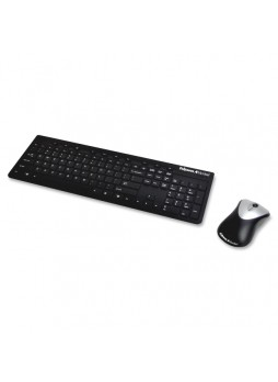 USB Wireless RF Keyboard - Black - USB Wireless RF Mouse - Optical - 1000 dpi - 3 Button - Black - fel9893601