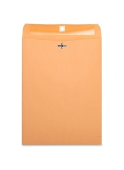 "Business Source, Heavy-Duty Clasp Envelopes, 9"" x 12"", 28lb, Ref 36663, Box of 100"