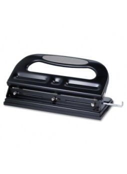 Business Source, ref 62897, Manual 3 Hole Punch, 40 sheets capacity, Black, Each